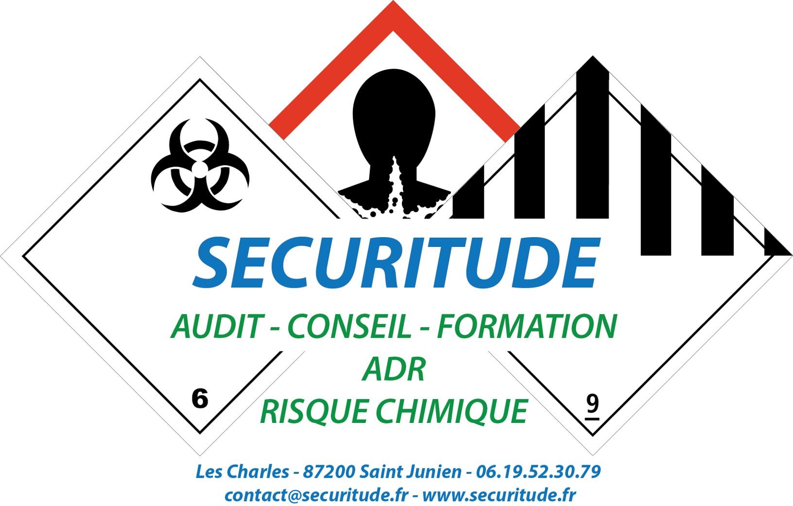 Logo Securitude + cartouche